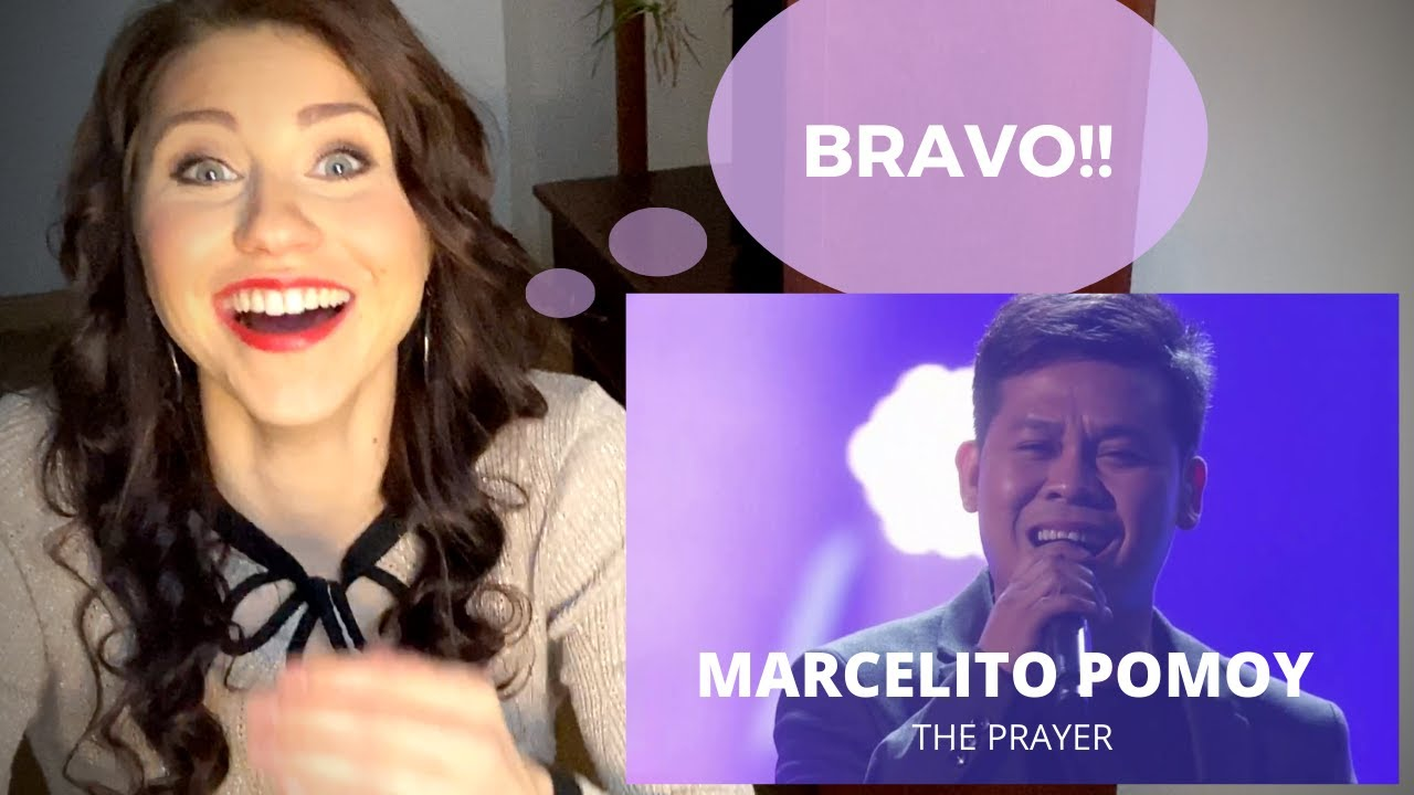 CONFIDENCE COACH reacts to Marcelito Pomoy 'The Prayer'