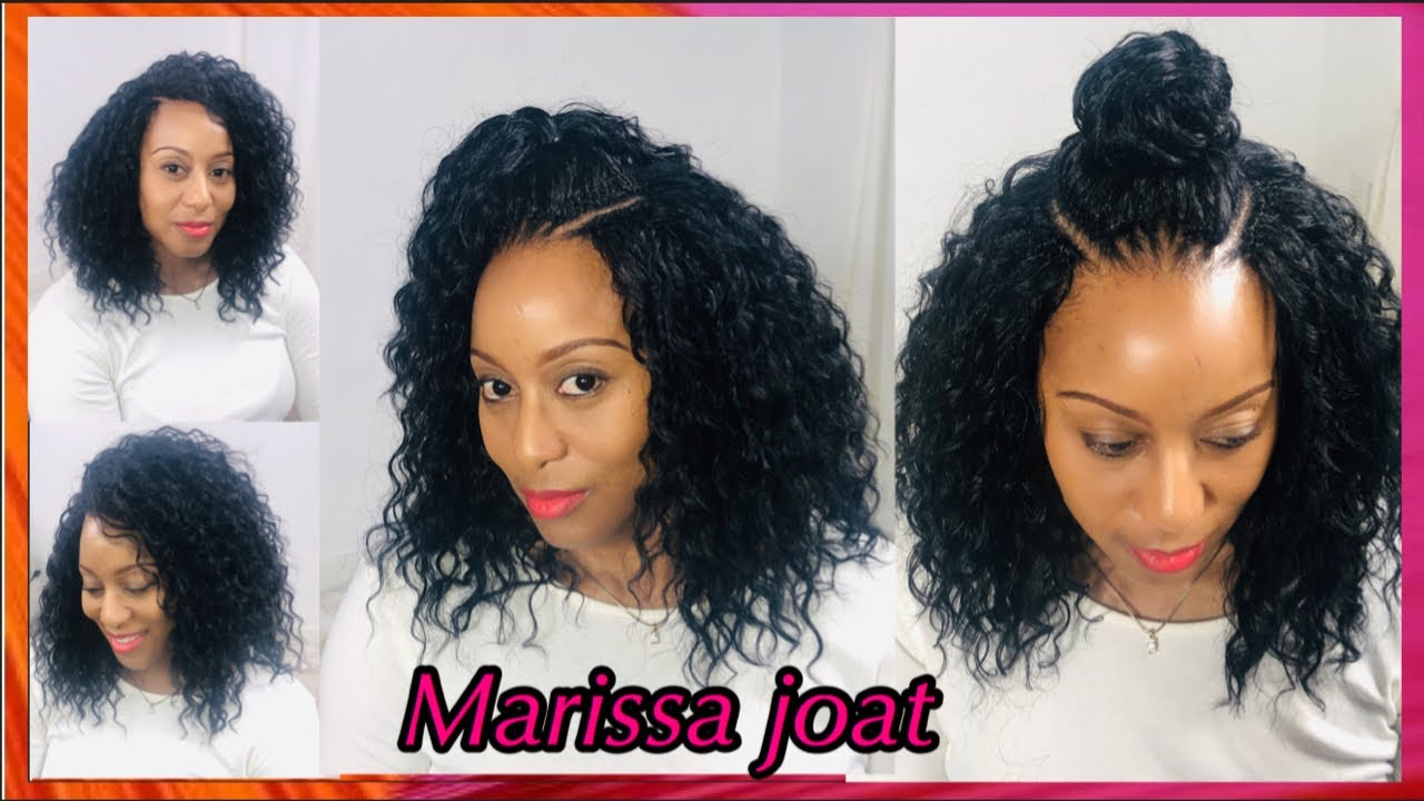 Trendy Crochet Braids Hair Styles For Natural Hair 3 Styles In 1 Youtube