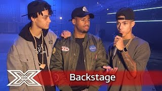 The X Factor Backstage with TalkTalk  From One Dance to Wembley, 5 After Midnight reminisce!!