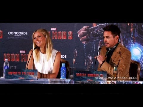 Iron Man 3: Pressekonferenz München (original language)
