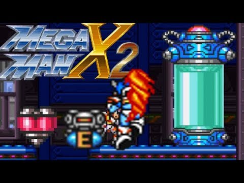 MegaMan X2: All Upgrades, Heart & Sub Tank Locations + Shoryuken
