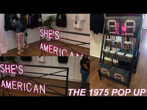 THE 1975 POP UP SHOP IN LOS ANGELES