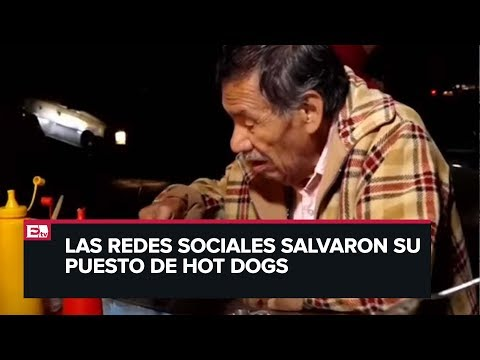 Don Abel, el abuelito vendedor de hot dogs que se hizo viral