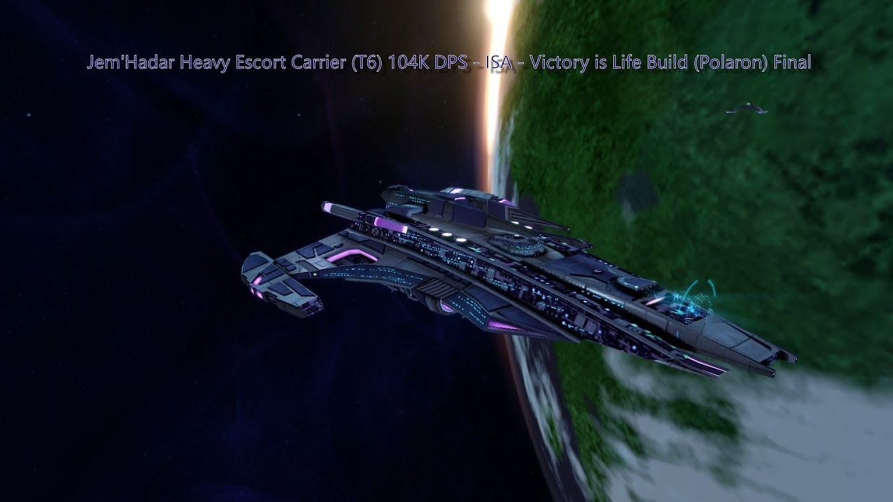 Star Trek Online Victory Is Life Polaron Build 104k Dps Isa
