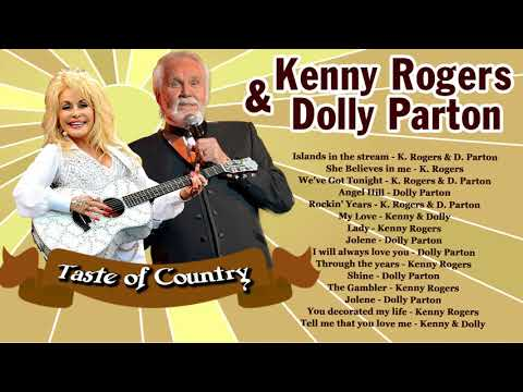 Kenny Rogers and Dolly Parton Country Music Duets Songs - Classic Country Music Male and female