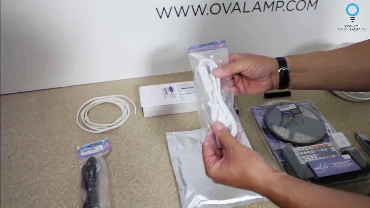 TUTORIAL OVALAMP Cmo instalar tiras LED  YouTube