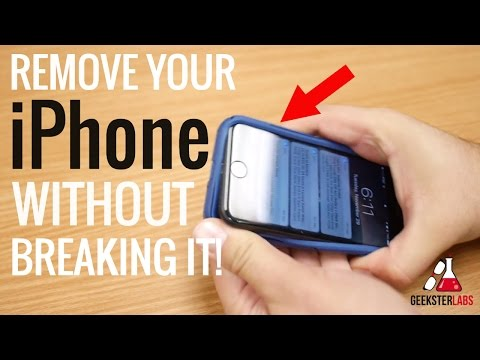 how-to-remove-iphone-from-case??!!