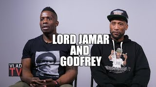 Lord Jamar & Godfrey on Pusha T Altercation: Violence is Always Part of Rap (Part 6)