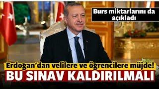 Cumhurbaşkanı Erdoğan TEOG Açıklaması!!