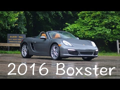 Porsche 981 Boxster 2016 model review and drive