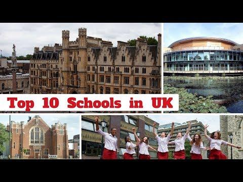 Top 10 Schools in UK