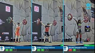 Snatch lifts comparison - Grand Prix Lima - Women - 49kg
