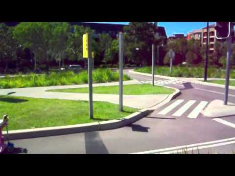 Tour Of Sydney Park Bike Track For Kids And Playground Youtube