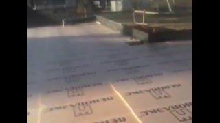 Гибкаарматуры.РФ: подбетонка, гидроизоляция, утепление(ЛО. Песочное ДНП Березовая Роща. фундамент 450 кв.м. Подушку сделали, подбетонку залили 40 кубов по маякам Гидр..., 2015-10-24T23:43:22.000Z)