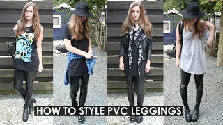 How To Style Black Milk Pvc Leggings | Rocknroller