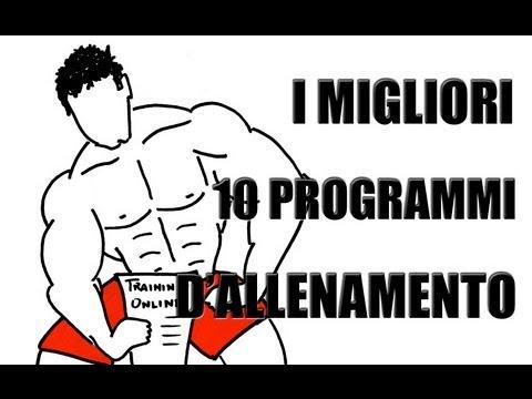 migliori 10 programmi per BodyBuilding - Personal Trainer Online ...