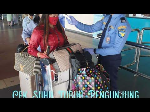 Cek Suhu Tubuh Di Bandara Hang Nadim Batam