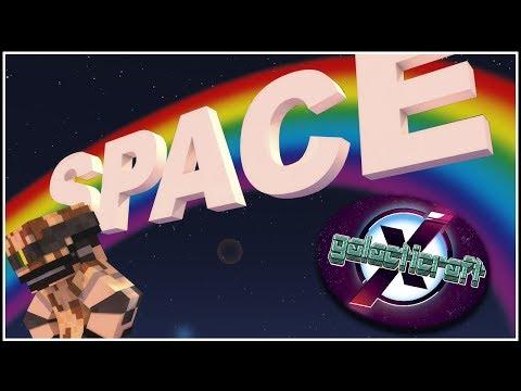 SPACE: O PRIMEIRO BRINQUEDO DO PARQUE ESPACIAL! - GALACTICRAFT X #130