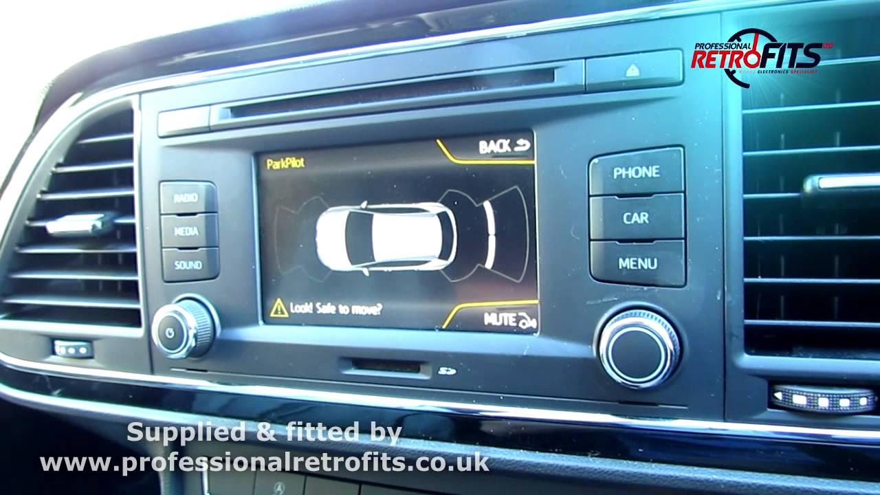Seat Leon 5f Ops Front And Rear Parking Senors Retrofit Nuneaton  Paul  Retrofits