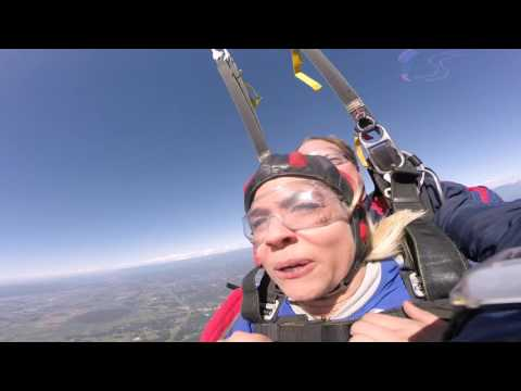 Carla Marie's Tandem skydive!