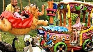 VLOG Парк аттракционов. Детский развлекательный центр. Видео для Детей Kids Amusement Park(, 2016-07-24T05:16:10.000Z)