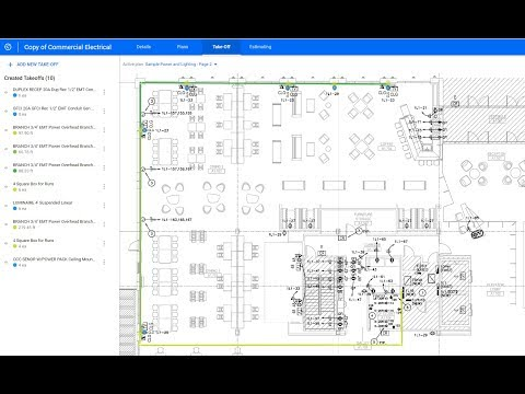 Esticom Guided Tour - How to Estimate a Commercial Electrical Project
