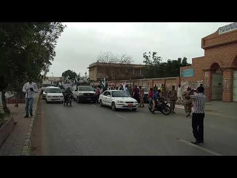 کراچی: سندھ رینجرز کی جانب سے یوم آزادی کے حوالے سے عزیز آباد میں ریلی کا انعقاد