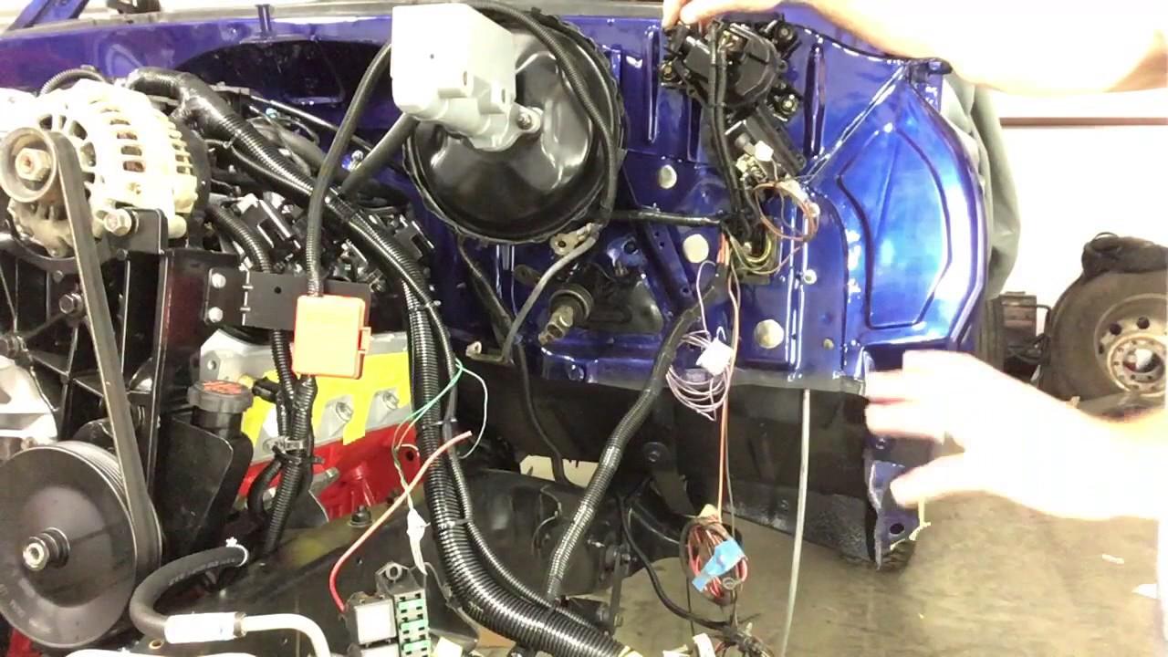 C10 Wiring Harness Ls Swap K5 Blazer Fuel Pump Wiring Pt 1 Youtube