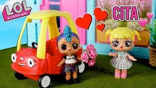 LOL Muñeca Bebe Goldie y Punk Boi Tienen Su Primera Cita
