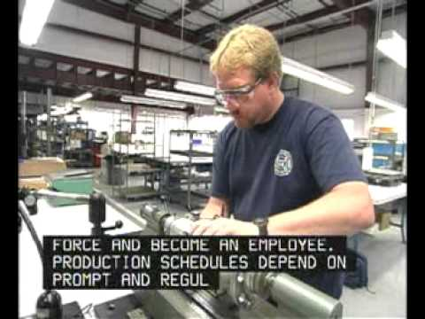 Manufacturing Career Cluster - YouTube