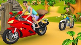 பைக் திருடன் தமிழ் நகைச்சுவை கதை | Bike Thief Tamil Comedy Story | Funny Stories | Maa Maa TV