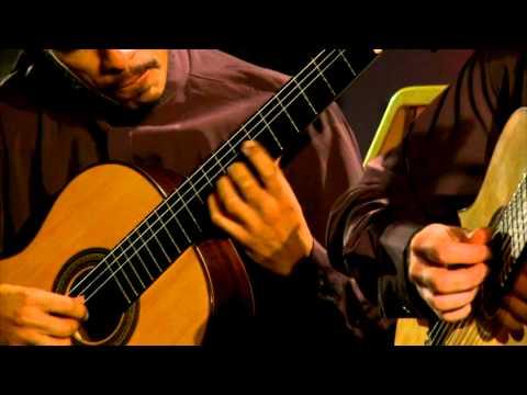 Brasil Guitar Duo - Preludio e Fuga - Tedesco