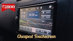 Cheapest ₹2800 Bluetooth Touchscreen Stereo For any Car from Kashmiri Gate Car Market Delhi
