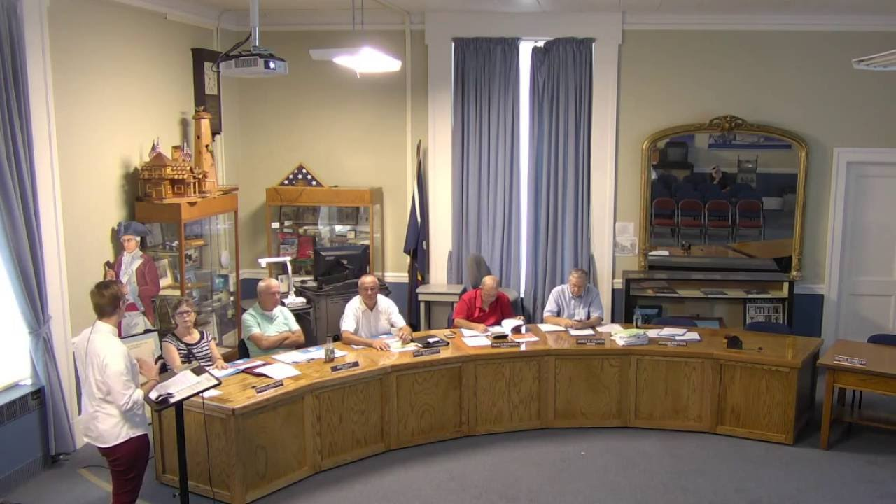 City of Plattsburgh Common Council Work Session  8-18-16