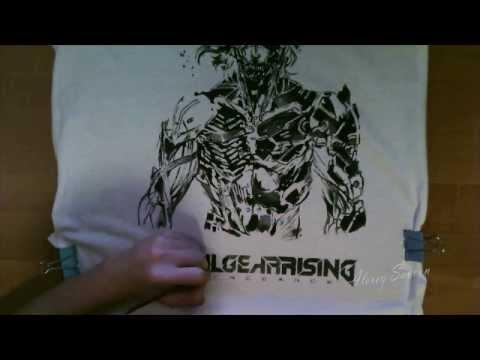 Speed paint Metal Gear Rising: Revengeance (T-Shirt)