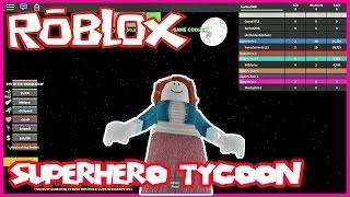 Let's play Roblox SuperHero Tycoon