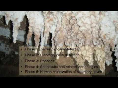 Ανίχνευση Σπηλαίων στη Γη και σε άλλους πλανήτες από τον Δρ Jut Wynne