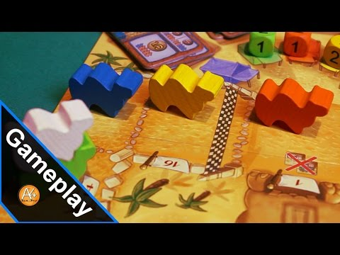 Gameplay - Scommesse azzardate su Camel Up!