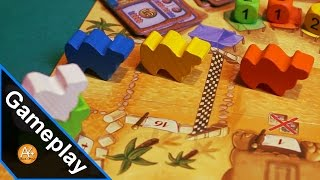 Gameplay - Scommesse azzardate su Camel Up!