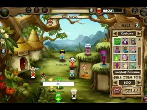 Kids Free MMO Game: Garden Party World 2012