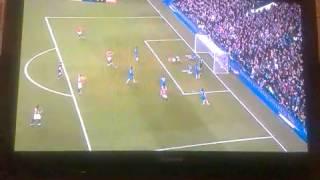 chicharito goal vs chelsea 3 2 28 10 12