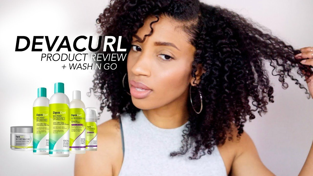 wave by design hair styles devacurl styling product review wash n go routine on 5860