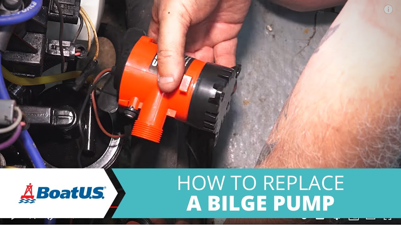 How To Replace Your Boats Bilge Pump Thats Not Working Boatus 1982 35 Hp Johnson Outboard Wiring Harness Free Picture