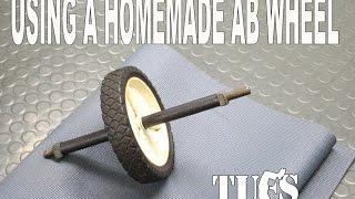 Mittels einer selbstgebauten Rad Ab