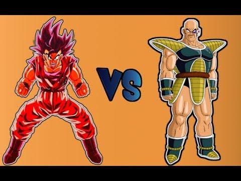 Son Goku VS Nappa GER