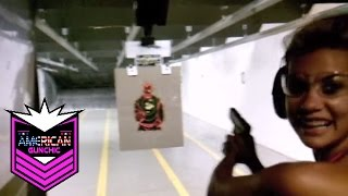 1st Time Shooting!  w/ American Gun Chic