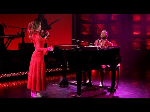 John Legend Performs 'Conversations in the Dark' ft. Lindsey Stirling