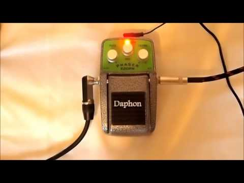 daphon e20ph cheap quality guitar phaser pedal youtube. Black Bedroom Furniture Sets. Home Design Ideas