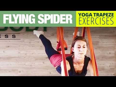 Yoga Trapeze Exercise - Flying Spider - Core Strength