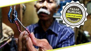 BIRD MARKET : Resep Panjang Umur Jual Ring Kaki Burung di Pasar Pramuka